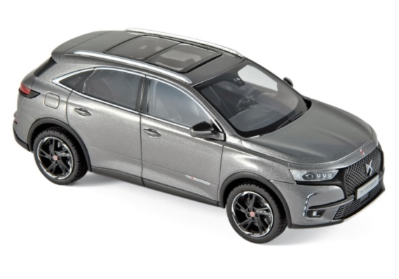 170013 DS 7 Crossback Performance Line 2018, Platinumgrijs, Norev