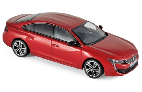 475820 Peugeot 508 GT 2018, Ultimate Red, Norev