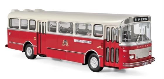 530040 Saviem S105M 1969, Bordeaux, Norev