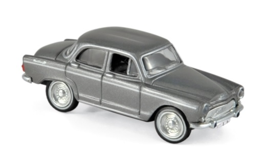 576085 Simca Aronde Monthiéry Spéciale 1962, met. grijs, Norev
