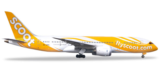 "531627 Boeing 787-8 D. ""Scoot"", Herpa Wings"