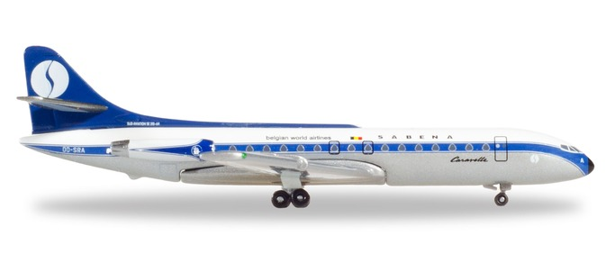 "531672 Sud Aviation Caravelle ""Sabena (B)"", Herpa Wings"