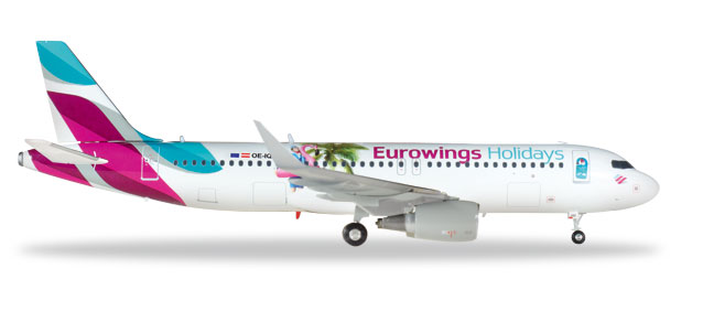 "559157 Airbus A320 ""Eurowings Europe"", Herpa Wings"