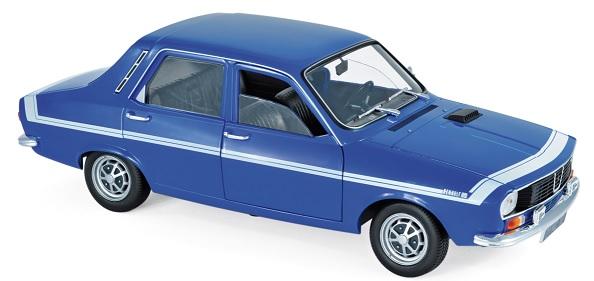 185210 Renault 12 Gordini 1971, Bleu de France, Norev