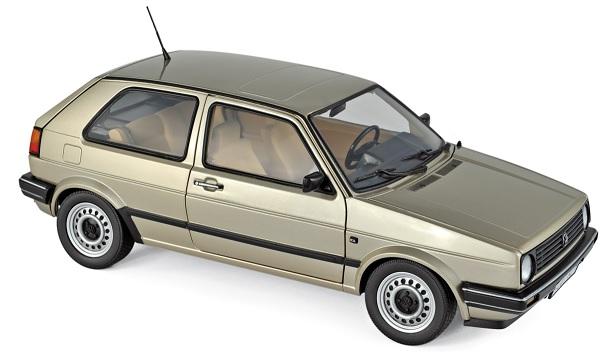 188519 Volkswagen Golf CL 1988, beige met., Norev