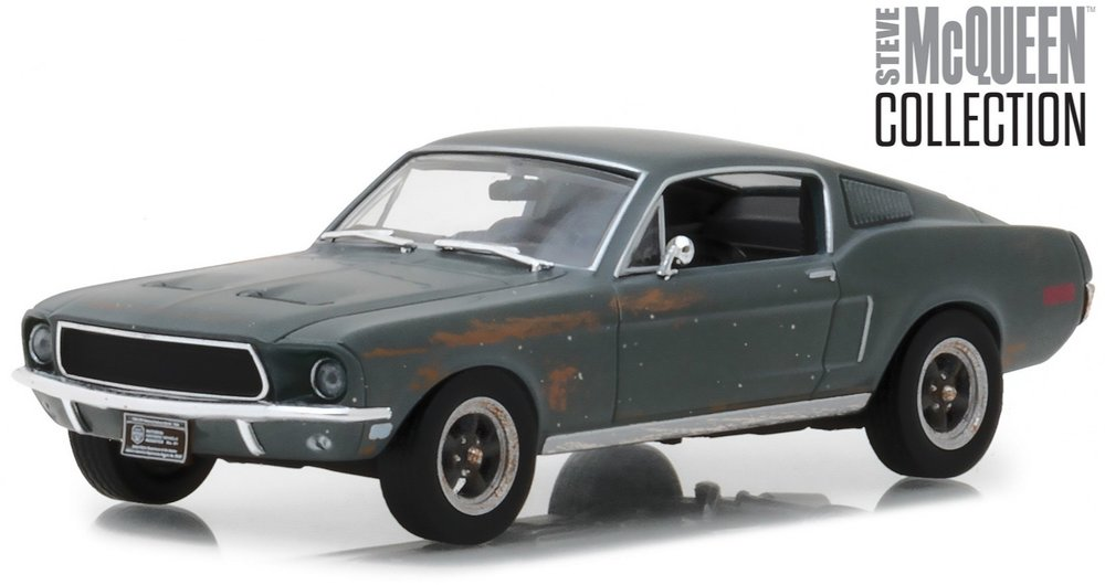 "86437 Unrestored 1968 Ford Mustang GT Fastback ""Steve McQueen"", Greenlight"