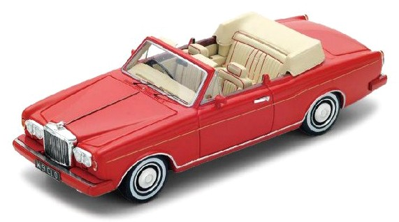 S3824 Bentley Continental Convertible 1984, rood, Spark