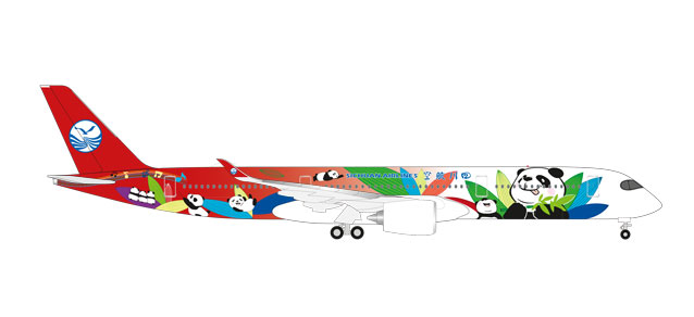 "531474 Airbus A350-900 ""Sichuan Airlines"", Herpa Wings"