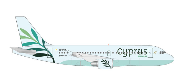 "531757 Airbus A319 ""Cyprus Airways"", Herpa Wings"