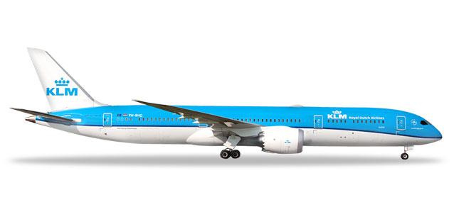 "528085-002 Boeing 787-9 D. ""KLM, PH-BHO Orchidee/Orchid (NL)"", Herpa Wings"