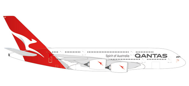 "531795 Airbus A380-800 ""Qantas Charles Kingsford Smith"", Herpa Wings"