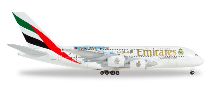 "531931 Airbus A380-800 ""Emirates Real Madrid 2018"", Herpa Wings"