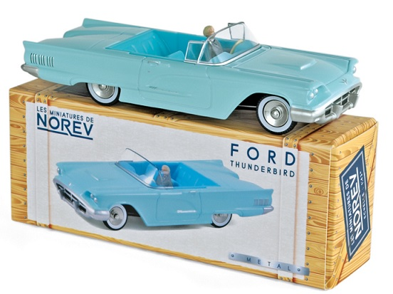 CL2712 Ford Thunderbird 1960, Aquamarine, Norev