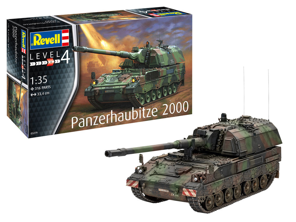 3279 Panzerhaubitze 2000, Revell