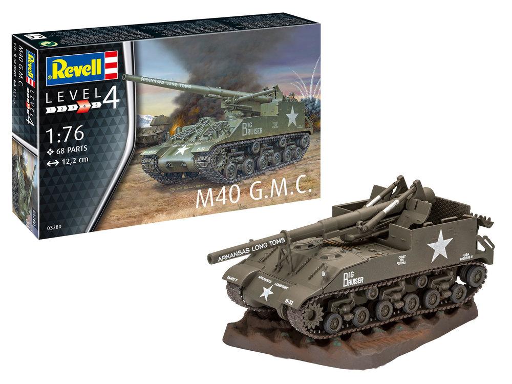 3280 M40 G.M.C., Revell