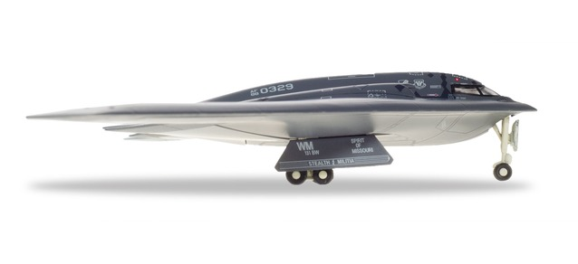 "559492 Northrop Grumman B-2A ""U.S.A.F. 110 sqd. Spirit of Missouri"", Herpa Wings"