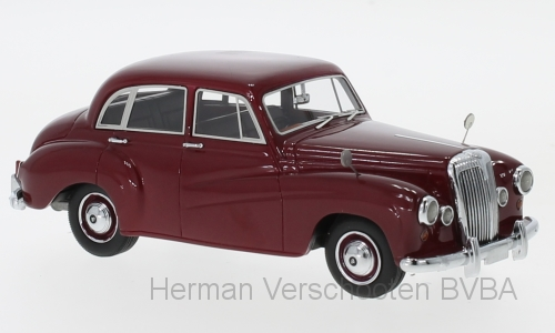 45081 Daimler Conquest, donkerrood, Neoscale Models