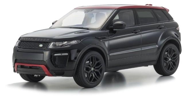 C09549BK Range Rover Evoque HSE Dynamiclux (Santorini Black), Kyosho