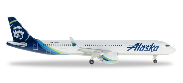 "531894 Airbus A321neo ""Alaska Airlines"", Herpa Wings"