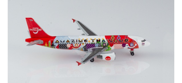 "532686 Airbus A320 ""Thai Air Asia"", Herpa Wings"