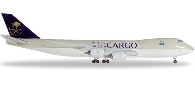 """532891 Boeing 747-8F """"Saudia Cargo"""", Herpa Wings"""