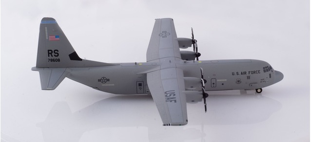 "559461 Lockheed Martin C-130J ""U.S.A.F. 86th Airlift Wing Ramstein"", Herpa Wings"