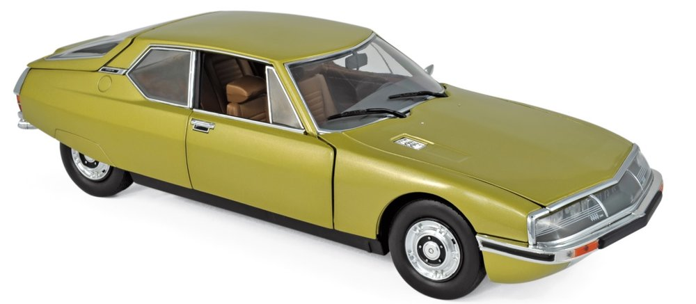 181730 Citroën SM 1971, Golden Leaf, Norev