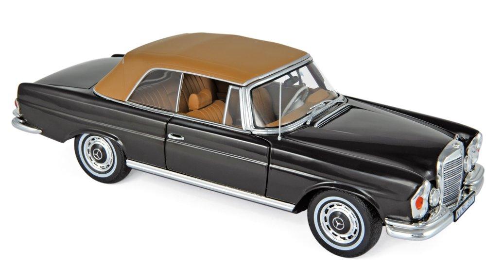 183568 Mercedes-Benz 280 SE Cabriolet 1969, bruin, Norev