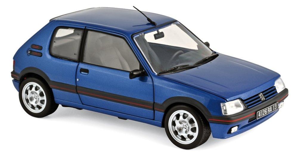 184856 Peugeot 205 GTi 1.9 1992, Miami Blue, Norev