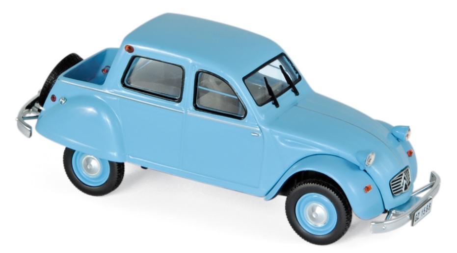 151397 Citroën 2CV Citroneta 1963, blauw, Norev