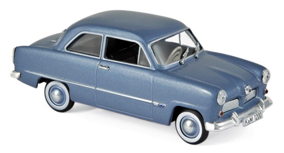 270575 Ford 12M 1954, blauw met., Norev