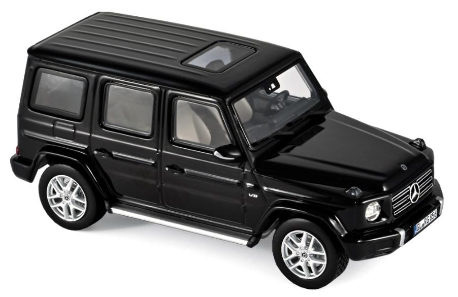 351341 Mercedes-Benz G-Klasse 2018, zwart, Norev