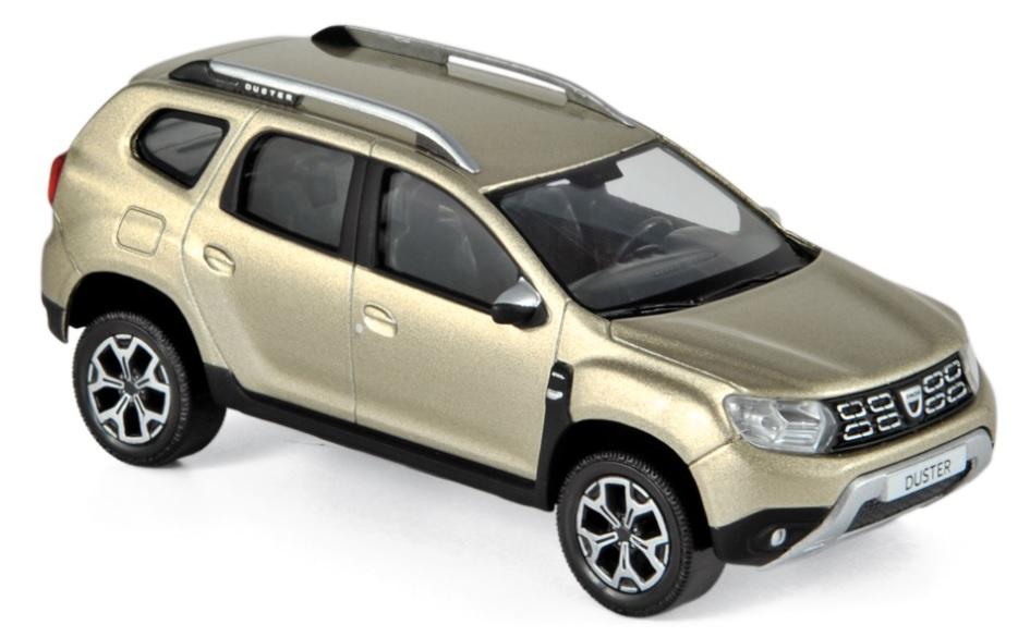509003 Dacia Duster 2018, Dune Beige, Norev