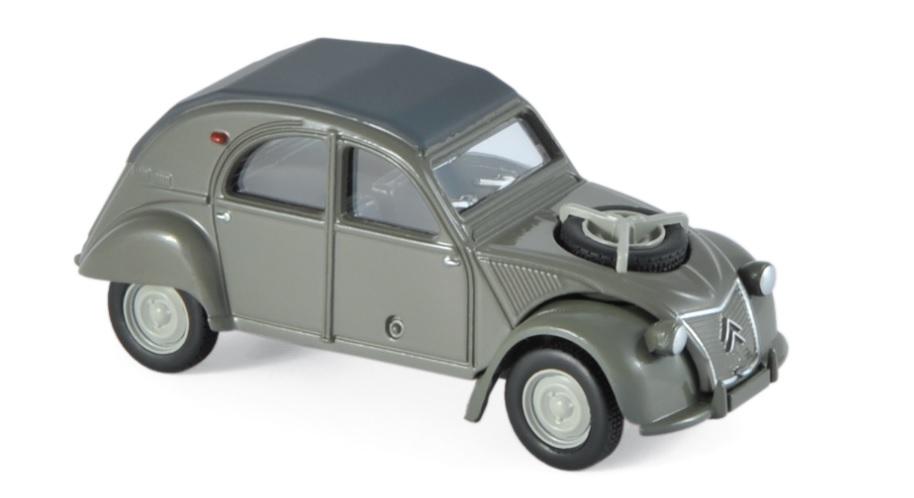 310810 Citroën 2CV 4X4, Etna grijs, Norev