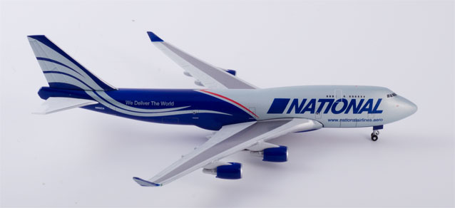 "518819-001 Boeing 747-400F ""National Air Cargo Ed"", Herpa Wings"