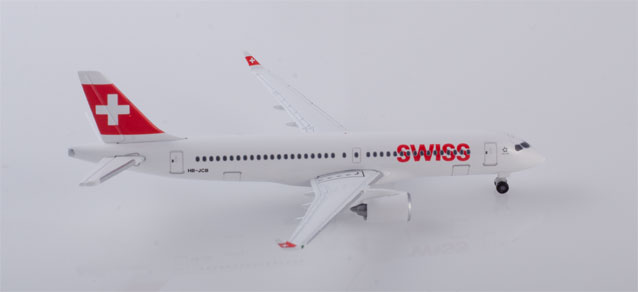 "532877 Airbus A220-300 ""Swiss International Air Lines"", Herpa Wings"