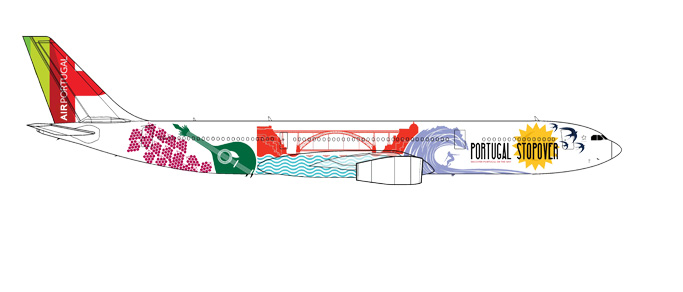 "530934 Airbus A330-300 ""TAP Portugal Stopover"", Herpa Wings"