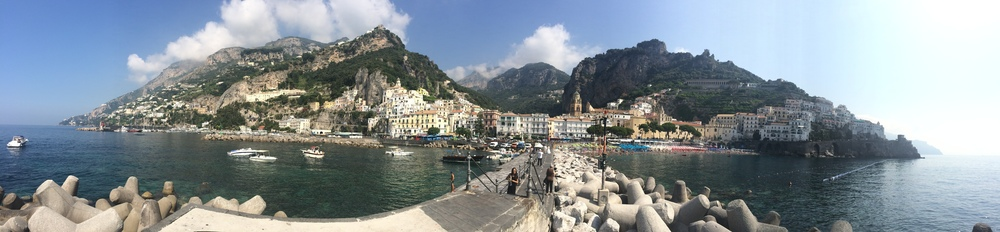 """""""We got on a bus and we were supposed to get off at Furore. Even though we had the GPS on, we didn't make it to the right place. Instead, we had to continue to the terminal stop in Amalfi and at the end of the day, we were glad that we did. The place was so picturesque that it took our breath away."""" Image courtesy: Michal Zelinka Amalfi, Italy"""
