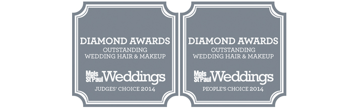 MSP Weddings Diamond Award Winner 2014