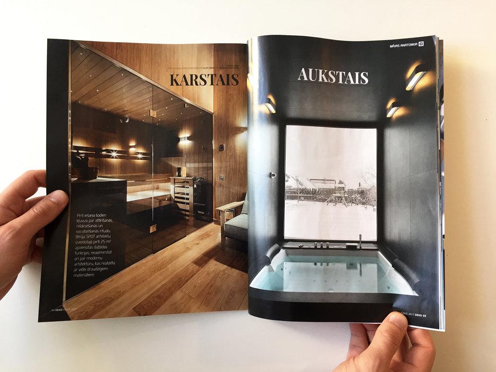 Deko Magazine viba s featured in deko magazine june 2017 spot