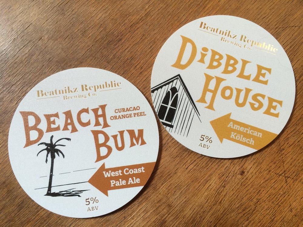 BEACH BUM and DIBBLE HOUSE bar lens designs