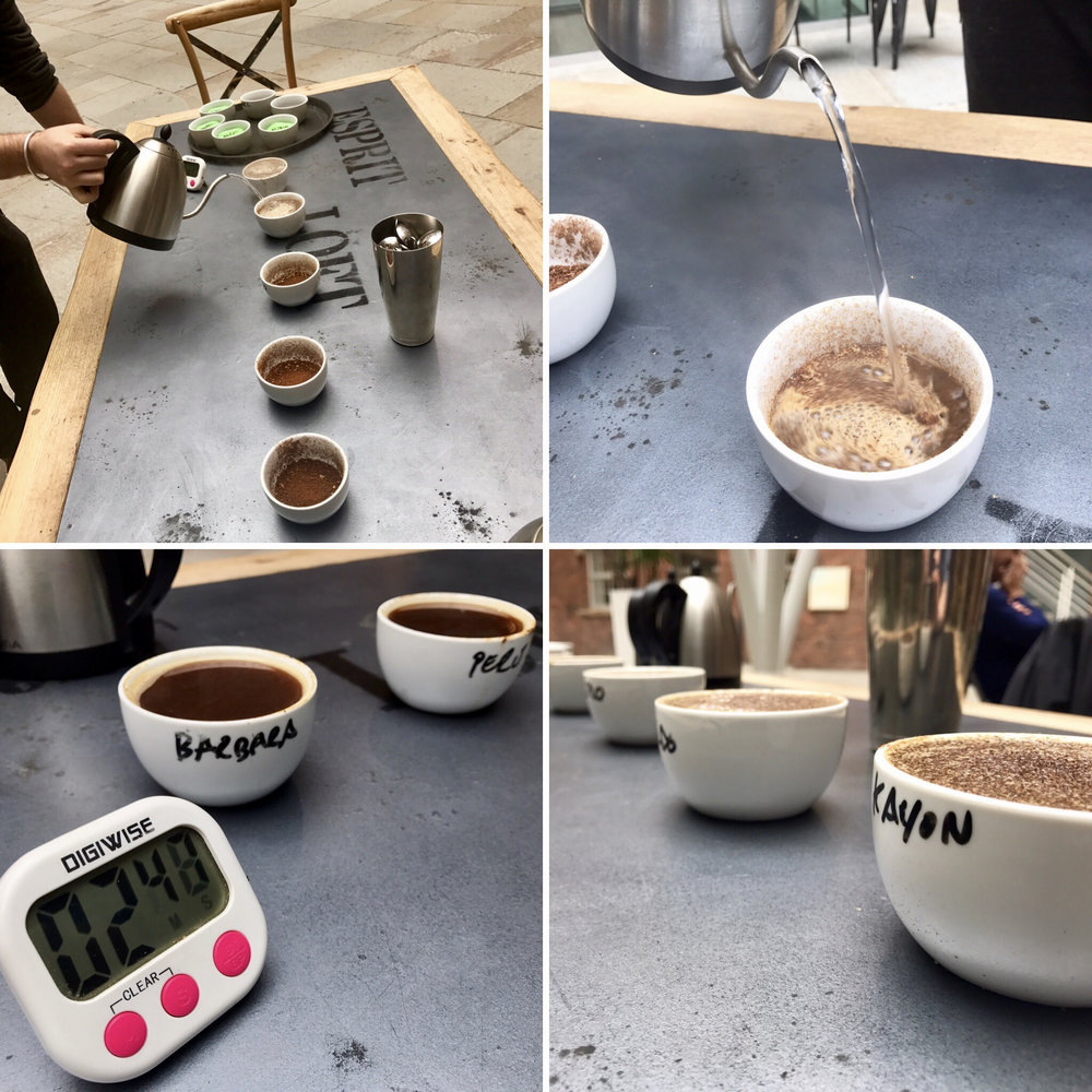 Cupping like - or with - a pro...