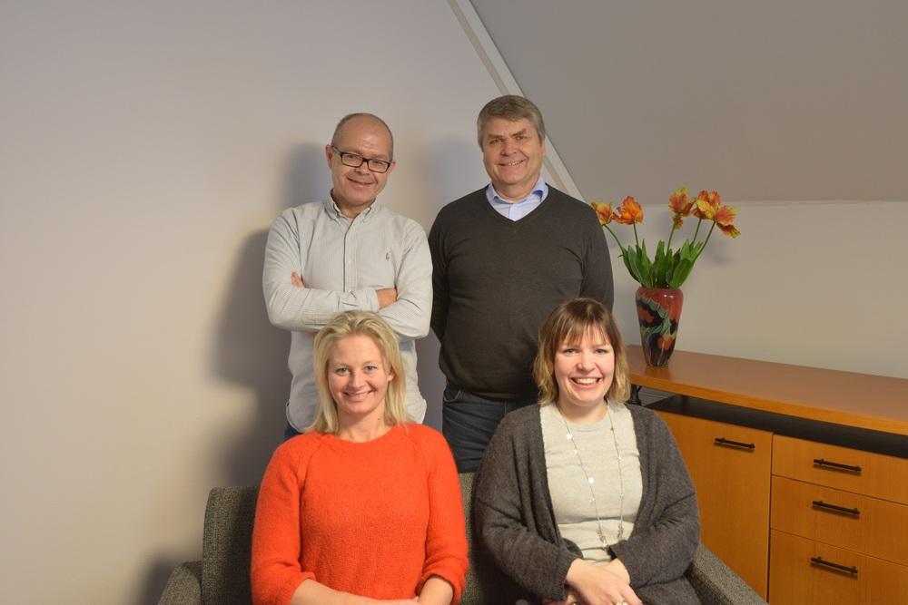 Pål Fidjestøl, Kjell Sandnes, Ingunn Nyheim og Guro Høyvik.jpg