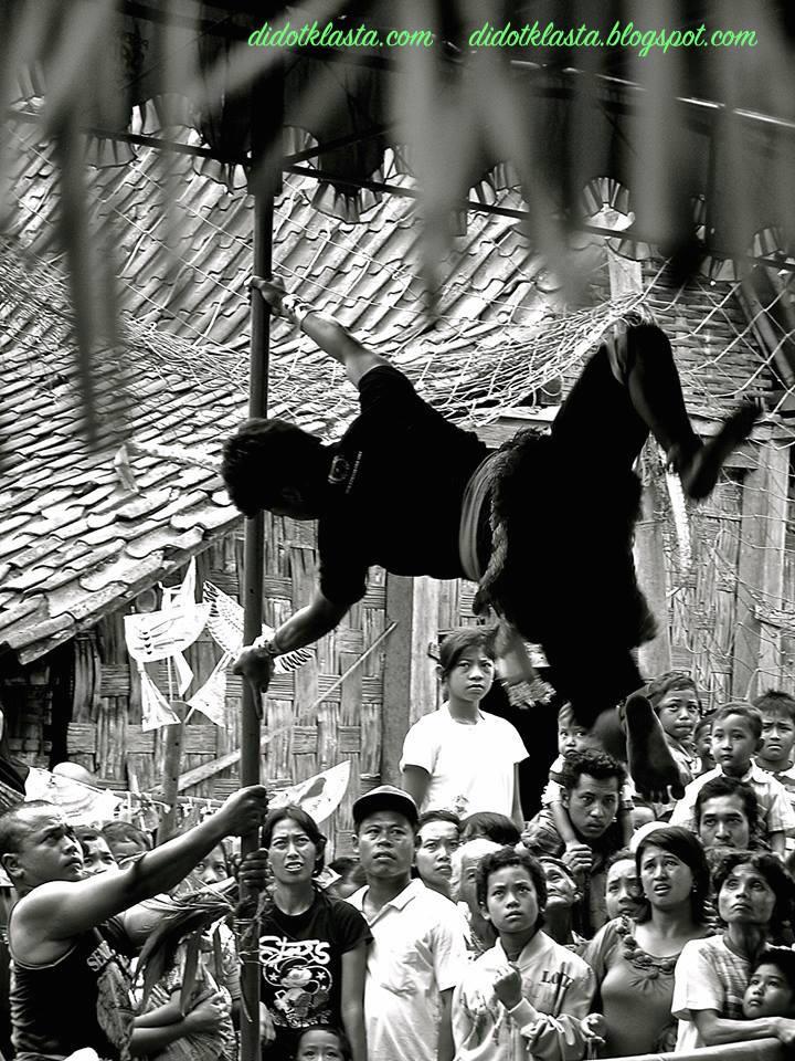 central java contemporary rural folk pole dance