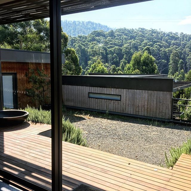 Bliss 😌 #yarravalley #mountains #sanctuary #studio