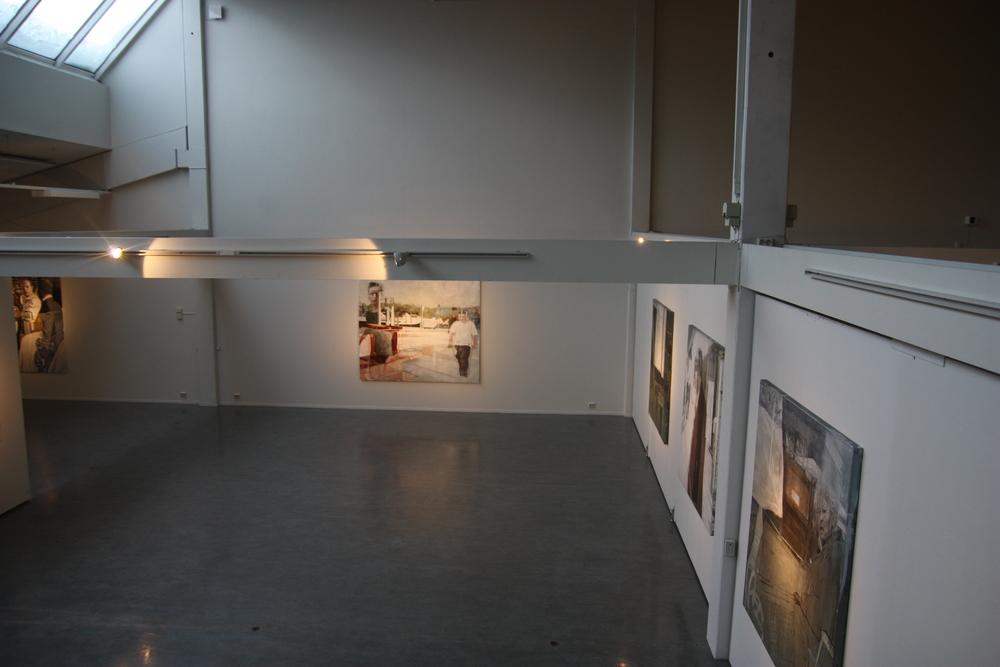 Fra utstillingen, En Passant, -fra finanskrise til nybarokk, Kunstmuseet, Nord-Trøndelag.
