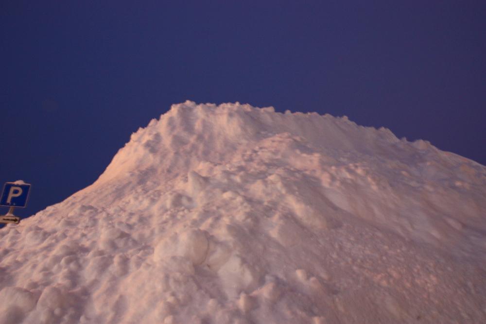 Mer snø..
