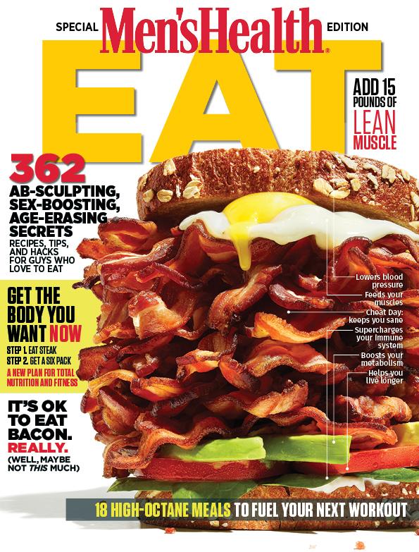 Men's Health EAT cover