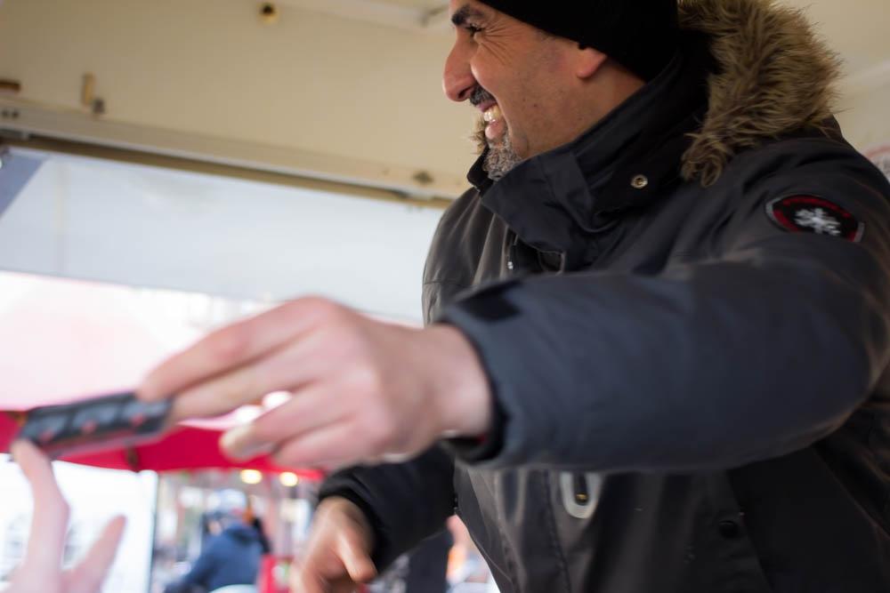 Drei Falafel-Imbissläden betreibt Mohammed Abdelmudi mittlerweile.
