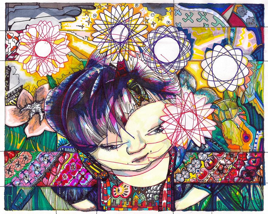 """Circadia"" by Virginia Palyka $1000"